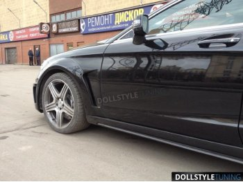 Крылья передние Prior-Design PD550 Black Edition для Mercedes CLS W218 (реплика)
