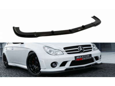 Накладка на передний бампер от Maxton Design для Mercedes CLS W219