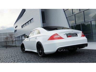 Задний бампер от Maxton Design для Mercedes CLS W219