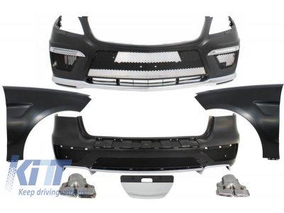 Комплект обвеса AMG 6.3 для Mercedes ML W166 (с крыльями)