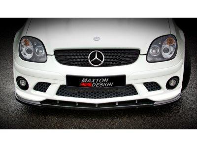 Накладка на передний бампер W204 Look от Maxton Design на Mercedes SLK класс R170