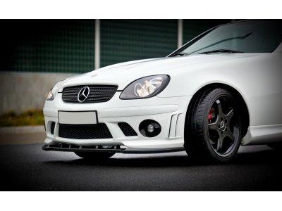 Бампер передний в стиле AMG W204 от Maxton Design на Mercedes SLK класс R170