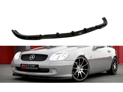 Накладка на передний бампер от Maxton Design на Mercedes SLK класс R170