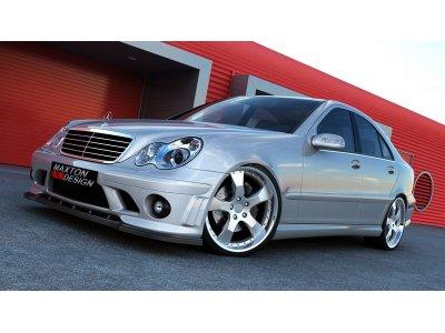 Тюнинг обвес от Maxton Design в стиле C63 W204 для Mercedes C класс W203