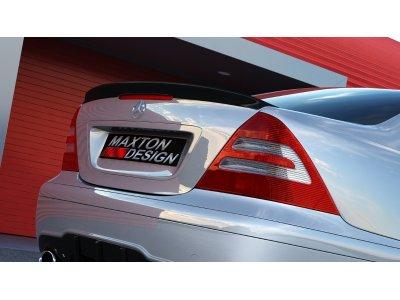 Спойлер на крышку багажника от Maxton Design в стиле AMG C63 для Mercedes C класс W203
