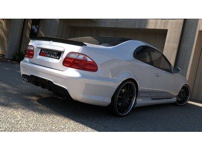 Бампер задний в стиле AMG C63 от Maxton Design на Mercedes CLK класс W208