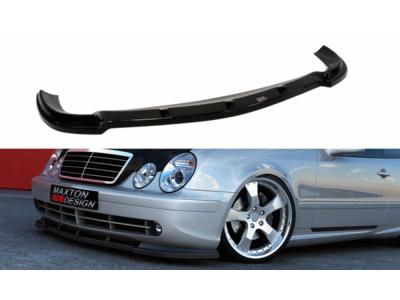 Накладка сплиттер на передний бампер AMG от Maxton Design на Mercedes CLK класс W208