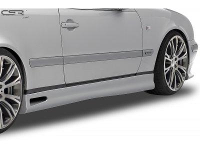 Накладки на пороги от CSR Automotive на Mercedes CLK класс W208