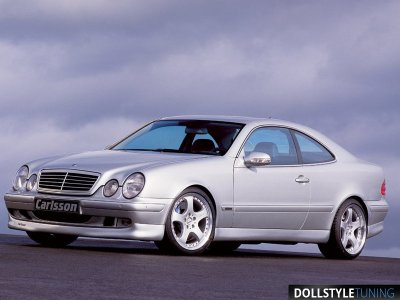 Комплект обвеса Carlsson для Mercedes CLK W208 (реплика)
