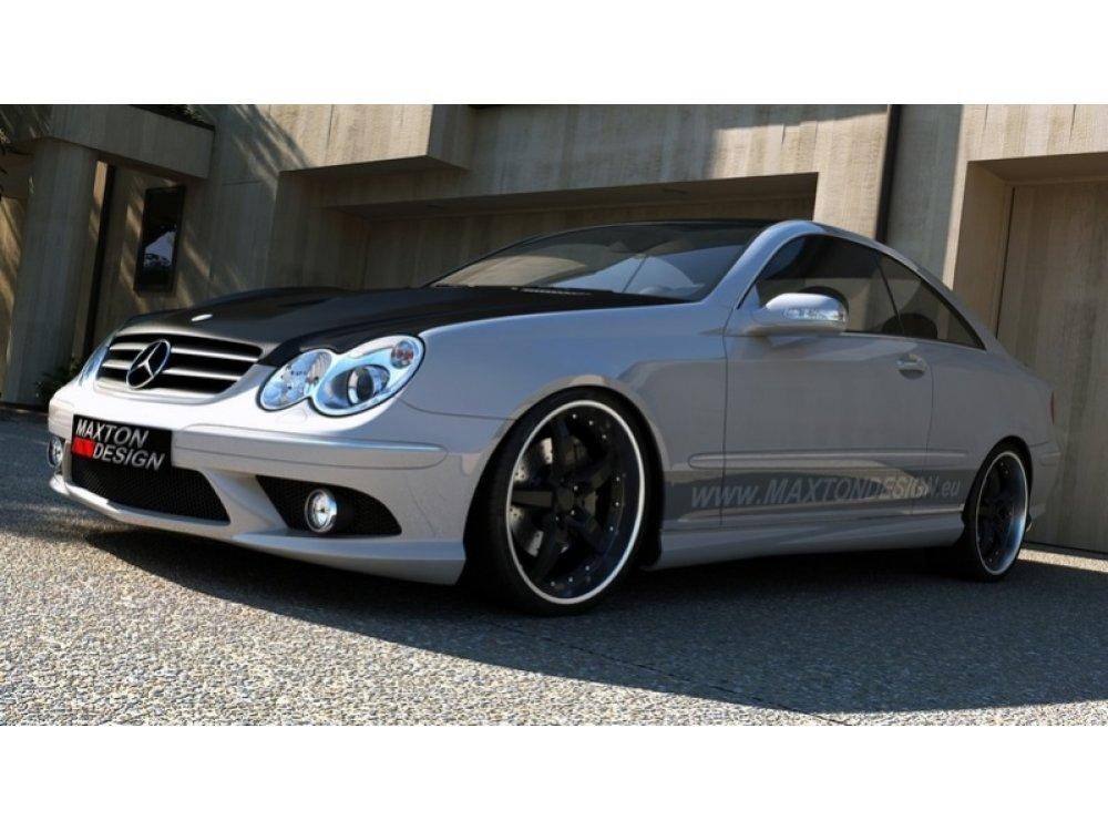 Бампер передний в стиле AMG от Maxton Design на Mercedes CLK класс W209