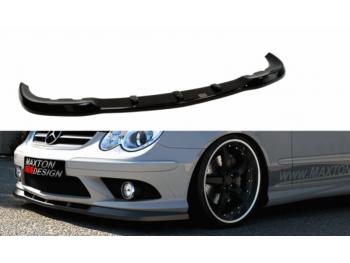 Накладка на передний бампер AMG Look от Maxton Design на Mercedes CLK класс W209