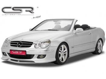Накладка на передний бампер от CSR Automotive на Mercedes CLK класс W209 Coupe / Cabrio
