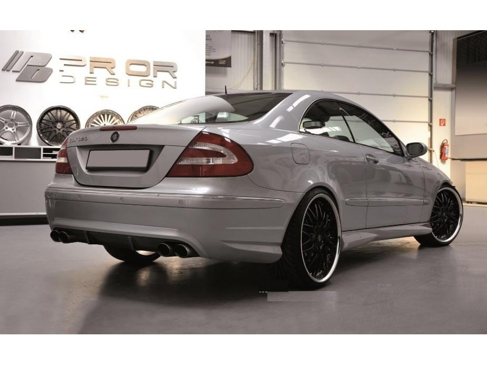 Бампер задний Prior-Design CLK PD на Mercedes CLK W209 (реплика)