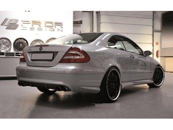 Бампер задний Prior-Design CLK PD на Mercedes CLK W209 (реплика)