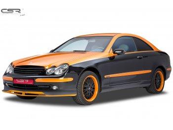Накладка на передний бампер от CSR Automotive Var2 на Mercedes CLK класс W209 Coupe / Cabrio