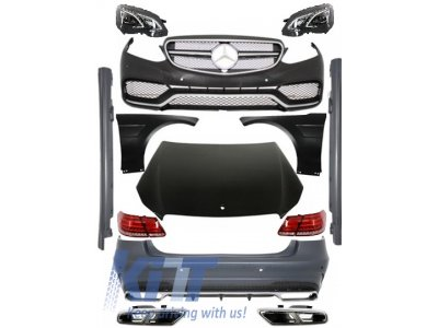 Комплект для рестайлинга в AMG E63 W212 от KITT для Mercedes E класс W212