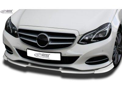 Накладка на передний бампер Vario-X от RDX на Mercedes E класс W212 рестайл