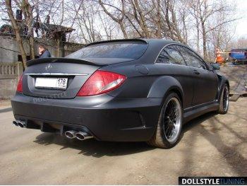 Спойлер на багажник в стиле PD Black Edition V2 на Mercedes CL класс W216 (реплика)