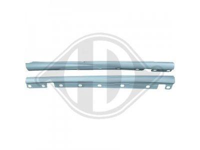 Накладки порогов в стиле AMG для Mercedes S класс W221 Long