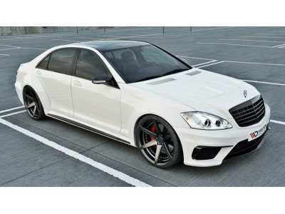 Комплект обвеса от Maxton Design Wide Body на Mercedes S класс W221