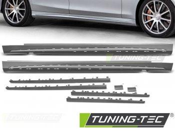 Накладки порогов в стиле AMG S63 от Tuning-Tec на Mercedes S класс W222 Long