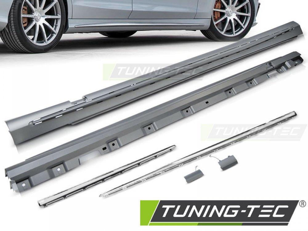 Накладки порогов в стиле AMG S63 от Tuning-Tec на Mercedes S класс W222
