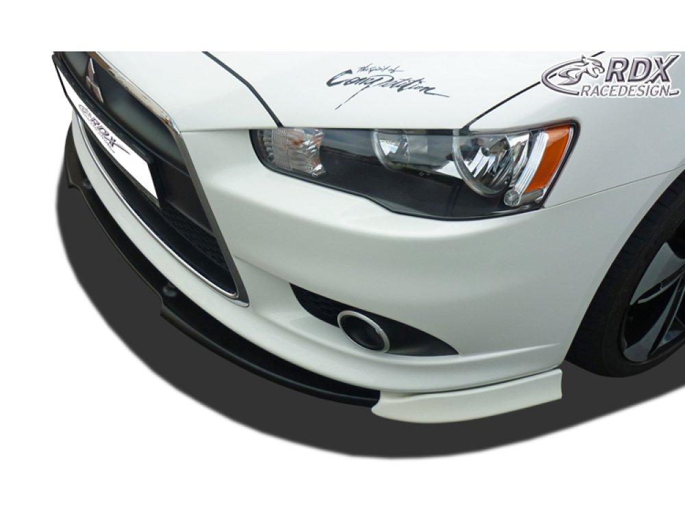 Накладка на передний бампер Vario-X от RDX для Mitsubishi Lancer X