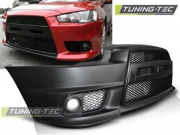 Бампер передний EVO Look от Tuning-Tec на Mitsubishi Lancer X