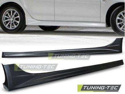 Накладки на пороги EVO Look от Tuning-Tec на Mitsubishi Lancer X