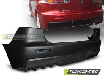 Бампер задний EVO Look от Tuning-Tec на Mitsubishi Lancer X