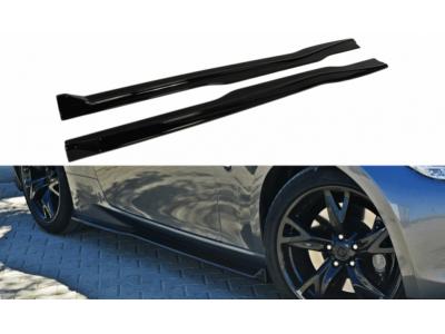 Накладки на пороги от Maxton Design на Nissan 370Z