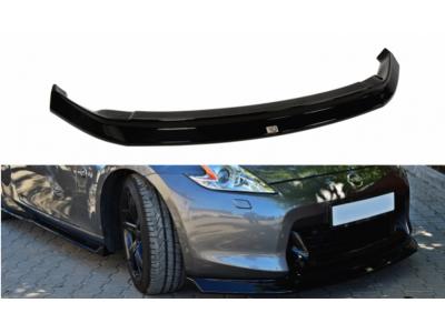 Накладка на передний бампер от Maxton Design на Nissan 370Z