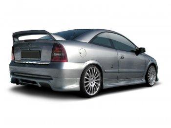 Накладка на задний бампер от Maxton Design на Opel Astra G Coupe / Cabrio