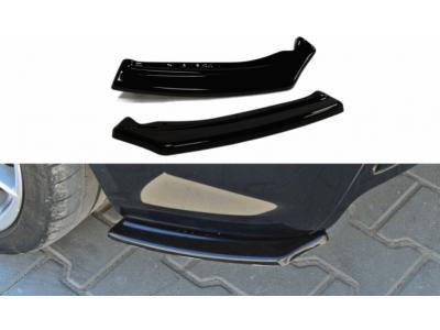 Боковые накладки на задний бампер от Maxton Design на Opel Astra H OPC / VXR