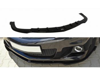 Накладка на передний бампер Var2 от Maxton Design на Opel Astra H OPC / VXR