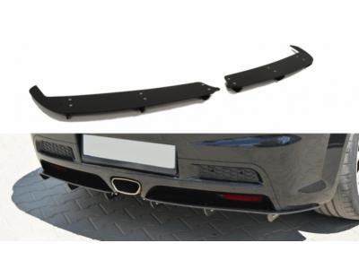 Накладка на задний бампер от Maxton Design на Opel Astra H OPC / VXR