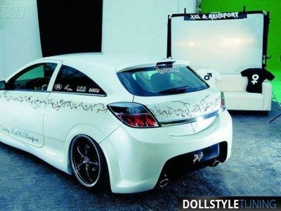 Бампер задний в стиле PAM для Opel Astra H GTC