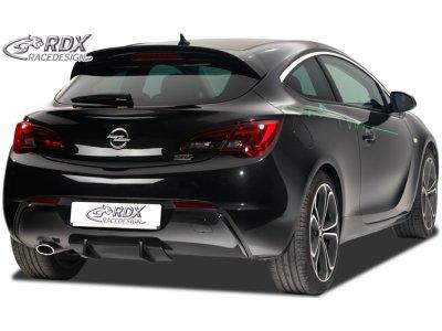Накладка на задний бампер от RDX Racedesign U-Diff на Opel Astra J GTC