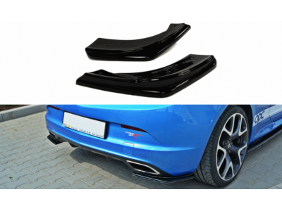 Боковые накладки на задний бампер от Maxton Design на Opel Astra J OPC / VXR