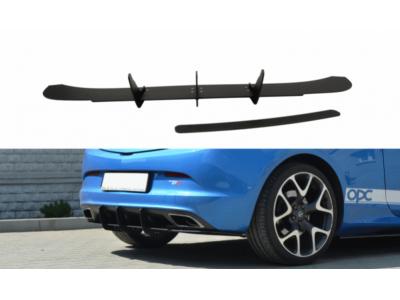 Накладка на задний бампер от Maxton Design на Opel Astra J OPC / VXR