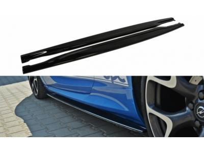 Накладки на пороги от Maxton Design на Opel Astra J OPC / VXR