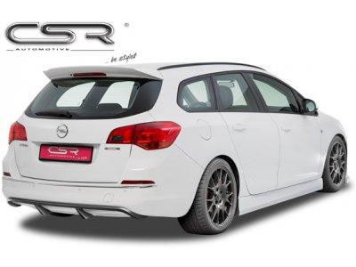 Накладка на задний бампер от CSR Automotive на Opel Astra J Sports Wagon