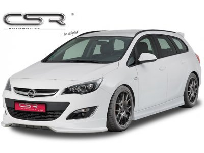 Накладка на передний бампер от CSR Automotive на Opel Astra J