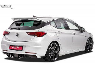 Накладка на задний бампер от CSR Automotive на Opel Astra K