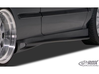 Накладки на пороги GT4 ReverseType от RDX Racedesign на Opel Calibra