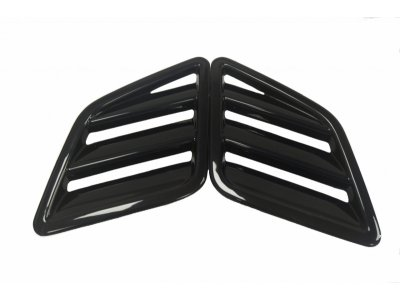 Воздухозаборники на капот от Maxton Design на Opel Corsa D