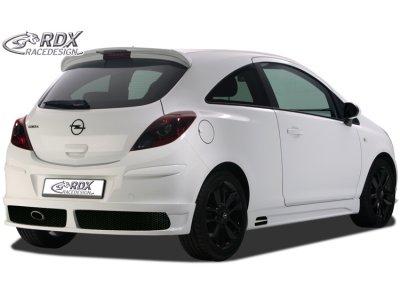 Накладка на задний бампер от RDX Racedesign на Opel Corsa D