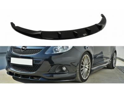 Накладка на передний бампер от Maxton Design на Opel Corsa D OPC / VXR