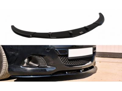 Накладка на передний бампер Var2 от Maxton Design на Opel Corsa D OPC / VXR