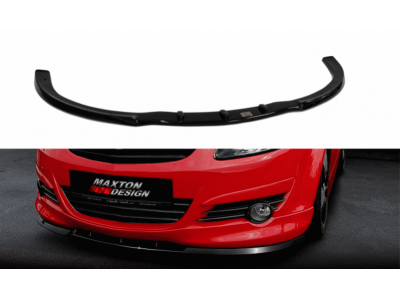 Накладка на передний бампер от Maxton Design на Opel Corsa D OPC-Line